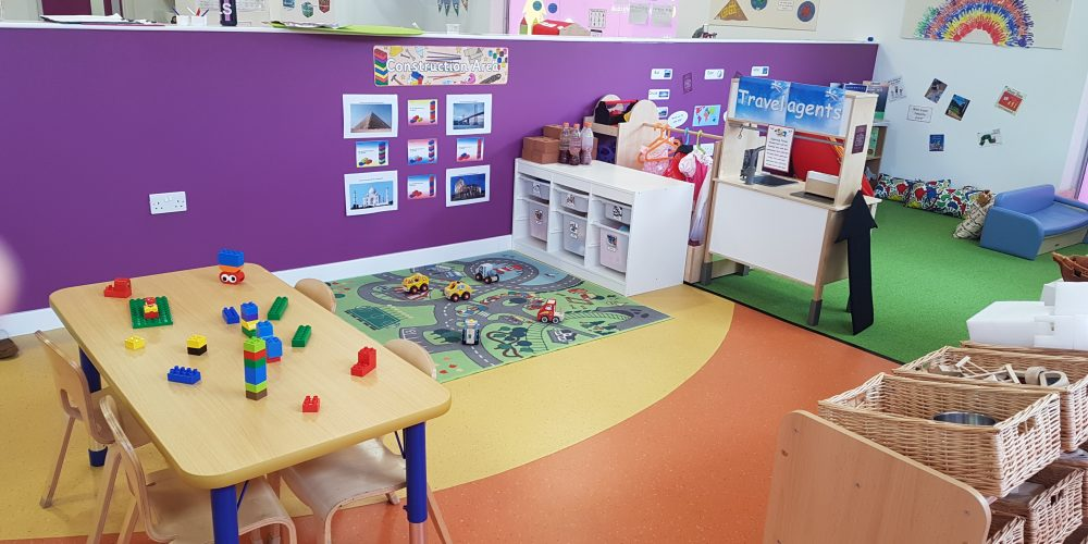 Preschool construction area